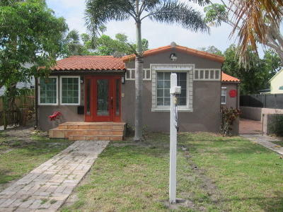 West Palm Beach Single Family Home For Sale: 436 38th Street