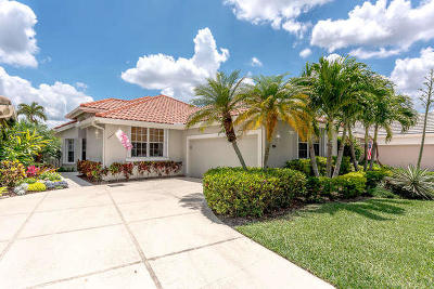 Palm Beach Gardens Single Family Home For Sale: 214 Eagleton Lake Boulevard