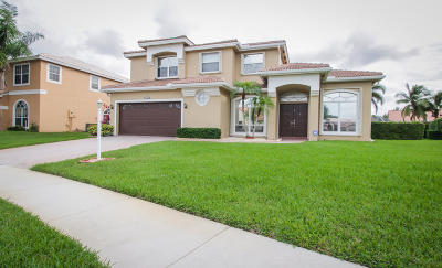 Boca Raton Single Family Home For Sale: 18691 Cassandra Pointe Lane