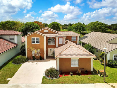 Boca Raton Single Family Home For Sale: 10616 Pebble Cove Lane