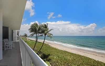Palm Beach Condo For Sale: 3170 S Ocean Boulevard #N402
