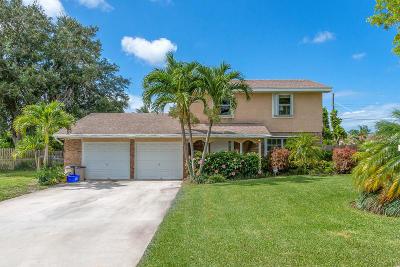 Lantana Single Family Home For Sale: 3169 Caribb Way