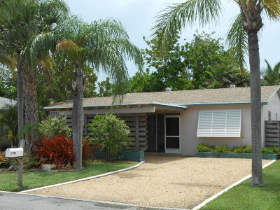 Lake Worth Single Family Home For Sale: 1311 L Street
