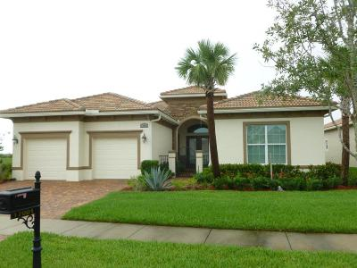 Port Saint Lucie Rental For Rent: 17001 SW Sapri Way