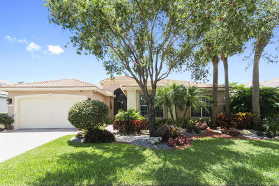 Delray Beach Single Family Home For Sale: 13284 Vedra Lake Circle