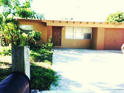 West Palm Beach Single Family Home For Sale: 730 55th Street