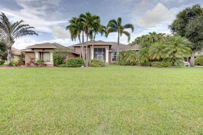 Wellington Single Family Home For Sale: 15380 Meadow Wood Drive