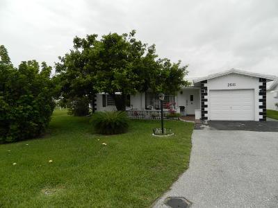 Pompano Beach Single Family Home Contingent: 2611 W Golf Boulevard