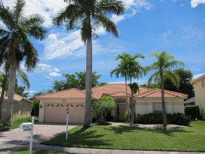 Boca Raton Single Family Home For Sale: 12785 Tulipwood Circle