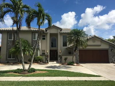 Boca Raton Single Family Home For Sale: 11874 Island Lakes Lane
