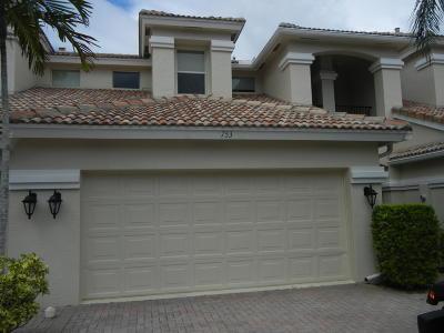 Palm Beach Gardens Rental For Rent: 753 Cable Beach Lane