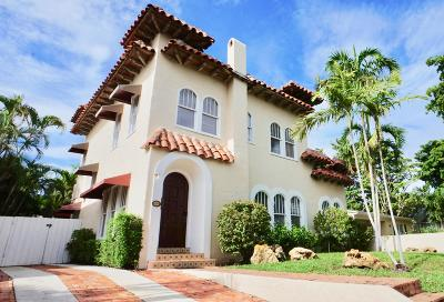 West Palm Beach Single Family Home Contingent: 615 Claremore Drive