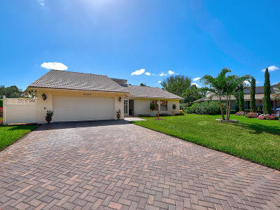 Palm Beach Gardens Single Family Home For Sale: 6164 Celadon Circle
