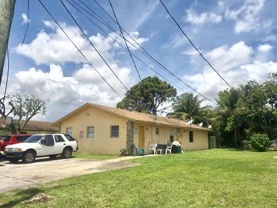 Lake Worth Multi Family Home For Sale: 4589 Clemens Street