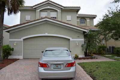 Port Saint Lucie Single Family Home For Sale: 1488 NW Leonardo Circle