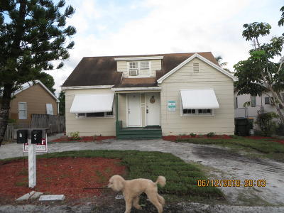 Lake Worth Multi Family Home For Sale: 622 S C Street #1