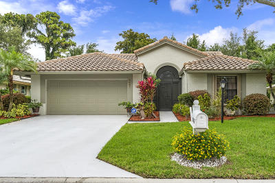 Boynton Beach Single Family Home For Sale: 8461 Leeway Lane
