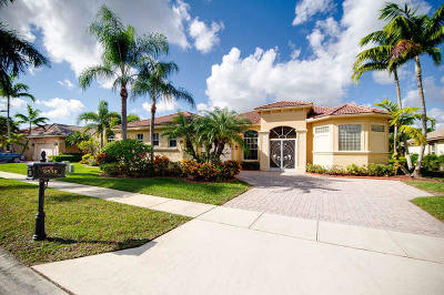 West Palm Beach Single Family Home For Sale: 9538 Lantern Bay Circle