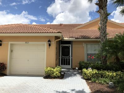 Boynton Beach Single Family Home For Sale: 8615 Logia Circle