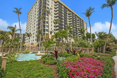 Highland Beach Condo For Sale: 3400 S Ocean Boulevard #7m