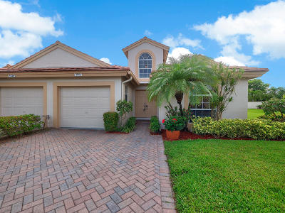 Delray Beach Single Family Home For Sale: 7519 Diamond Pointe Circle