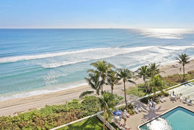 Highland Beach Condo For Sale: 3101 S Ocean Boulevard #702