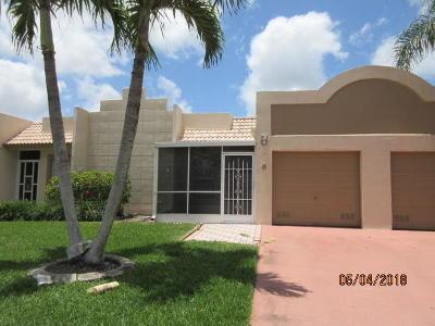 Boca Raton Single Family Home For Sale: 18801 Garbo Terrace #6