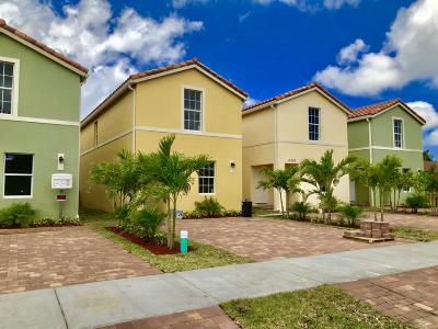 Lake Worth Single Family Home For Sale: 4307 Carver St Street
