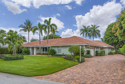 Boynton Beach Single Family Home For Sale: 11956 Lake Drive