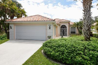 West Palm Beach Single Family Home For Sale: 2564 Irma Lake Drive