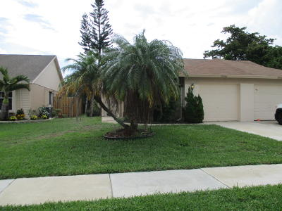 Lake Worth Single Family Home For Sale: 7952 Piper Lane