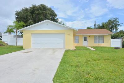 Hobe Sound Single Family Home For Sale: 7401 SE Sandpiper Street
