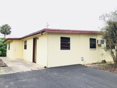 West Palm Beach Single Family Home For Sale: 2166 Pepper Road