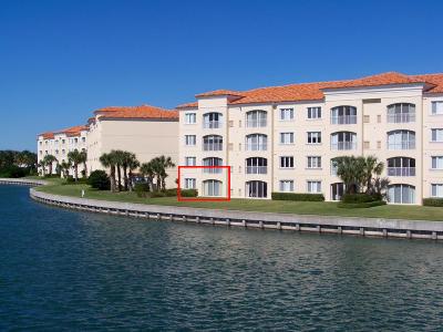 Fort Pierce Condo For Sale: 7 Harbour Isle Drive E #106