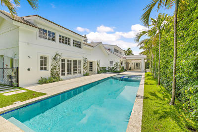 Palm Beach Single Family Home For Sale: 285 Colonial Lane