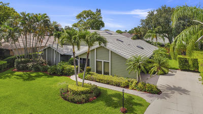 Palm Beach Gardens Single Family Home For Sale: 3 Carrick Road