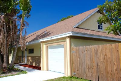 Lake Worth Single Family Home For Sale: 3530 Patio Court