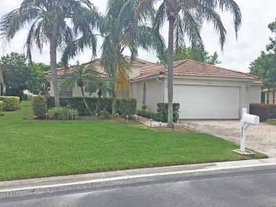 Greenacres Single Family Home Contingent: 2547 Egret Lake Drive