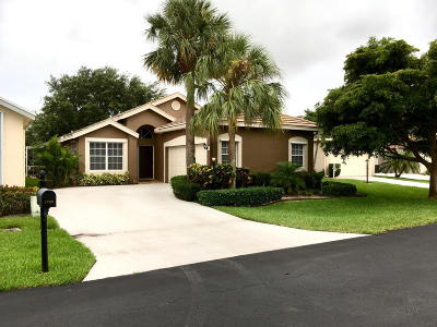 Delray Beach Single Family Home For Sale: 2780 Clearbrook Circle