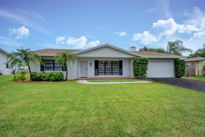 Boynton Beach Single Family Home For Sale: 1058 SW 24th Avenue