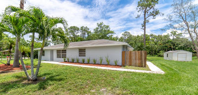 Royal Palm Beach Single Family Home For Sale: 4570 129th Avenue