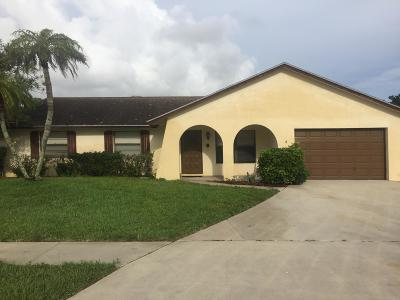 West Palm Beach Single Family Home For Sale: 2644 Starwood Circle