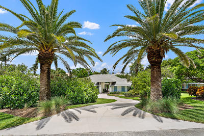Tequesta Single Family Home Contingent: 17529 SE Indian Hills Drive