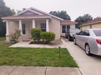 West Palm Beach Single Family Home For Sale: 1119 Freshwater Lakes Drive