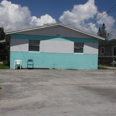 Fort Pierce Multi Family Home For Sale: 1505 16 Street