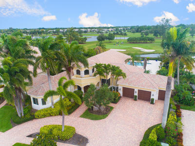 Boynton Beach Single Family Home For Sale: 8 Island Drive