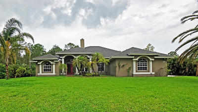 Jupiter Single Family Home For Sale: 16183 127th Drive