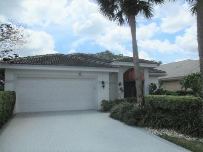 Boca Raton Single Family Home For Sale: 10106 Spyglass Way
