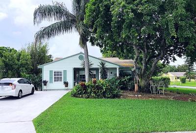 Boynton Beach Single Family Home For Sale: 5495 Courtney Circle
