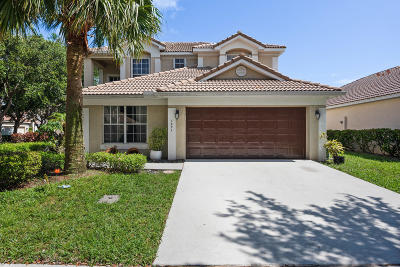 Delray Beach Single Family Home For Sale: 1091 Delray Lakes Drive